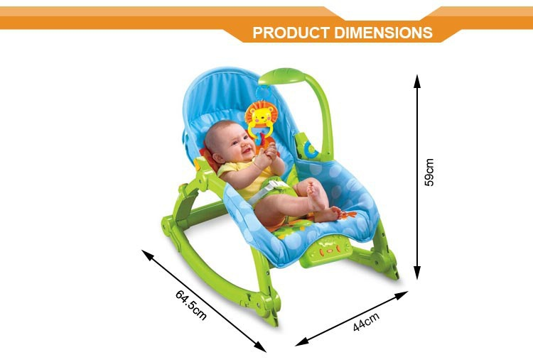 Baby Rocker Chair Electric Musical Crib Stroller Cover Baby Swing