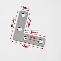 Custom Furniture Hardware L Angle Bracket