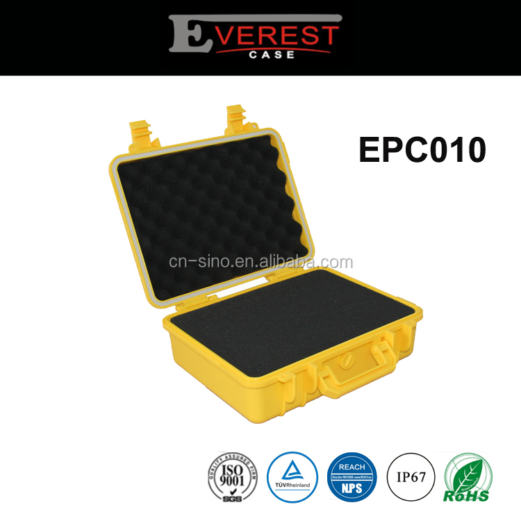 Everest Hard Plastic Case with foam for Electronics, Equipment, Cameras, Tools, Drones