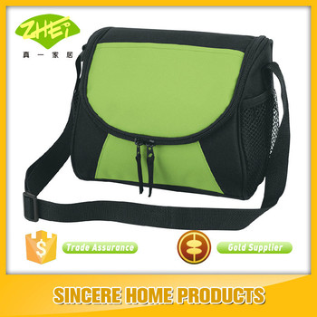 promotional dual zippered Lunch cooler bags for food