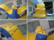 Top inflatable teeter totter water toys
