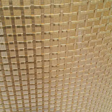 Xiangguang Factory brass crimped decorative wire mesh for cabinets