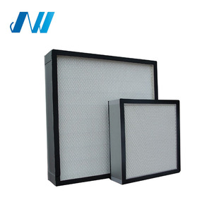 Cleanroom or Medical Mini HEPA pleated h2s gas filter