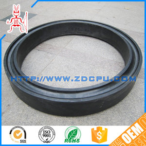 CNC machined nonstandard hard nbr rubber strips