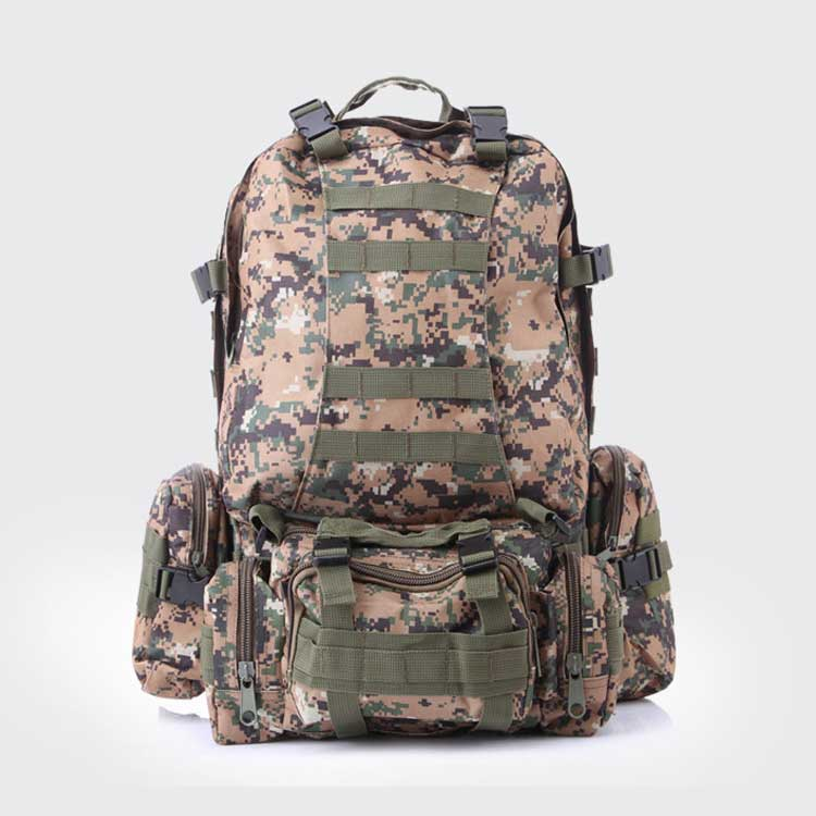 colorful 3D military tactical backpack fire proof military backpack