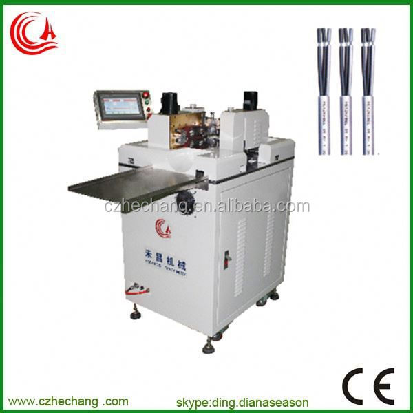 Automatic cable making equipment for wire cable stripping machine