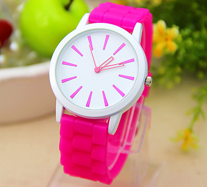 2016 Popular colorful Professional silicone watches with silicone strap and silicone led watch