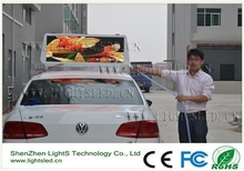 LightS Alibaba Express Full Color Taxi Top Led Display Screen For Advertising /LightS P5 Led Digital Full Color 3g Gps Worldwide