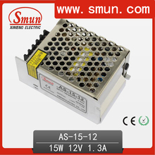15w 12vdc AC/DC switching power supply small size with CE rohs 2 year warranty Factory