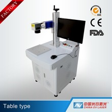 10W 20W 30W 50W desktop Fiber Laser Marking Machine Price Cheap