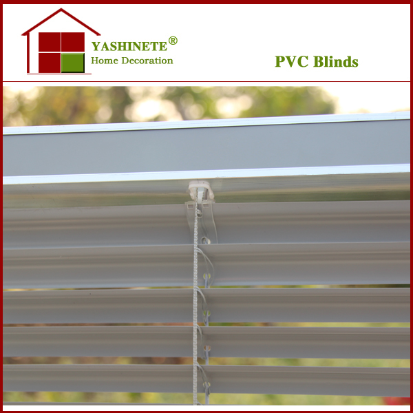 25mm pvc horizontal venetian window blinds/blind aluminum slat