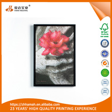 Eco-friendly OEM creative flower canvas printing wall art canvas printing
