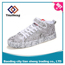 Male ladies fashion flat sandals the spring and autumn students with adhesive tape shoes