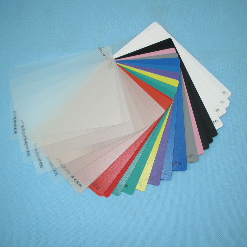 Nontoxic 0.1mm - 12mm Natural Colored Thin Plastic Polypropylene PP Plate Sheet For Printing and Floor Mat