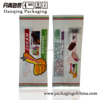 Guangdong printing Ice cream packaging bags,back side seal bag for ice cream