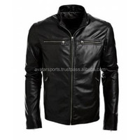 Ladies short Leather jacket of PU leather Motorcycle