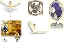Fans (Ceiling, Table, Wall, Pedestal, Exhaust And Industrial)