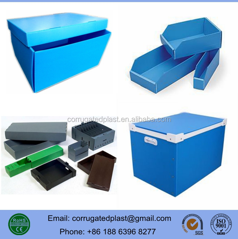 Shipping/ Storage/ Packaging Corrugated Plastic Core Boxes