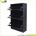 goodlife modern wood shoe racks with full length mirror doors