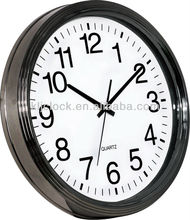 18 inch Large Plastic Wall Clock WH-6922 for home decoration