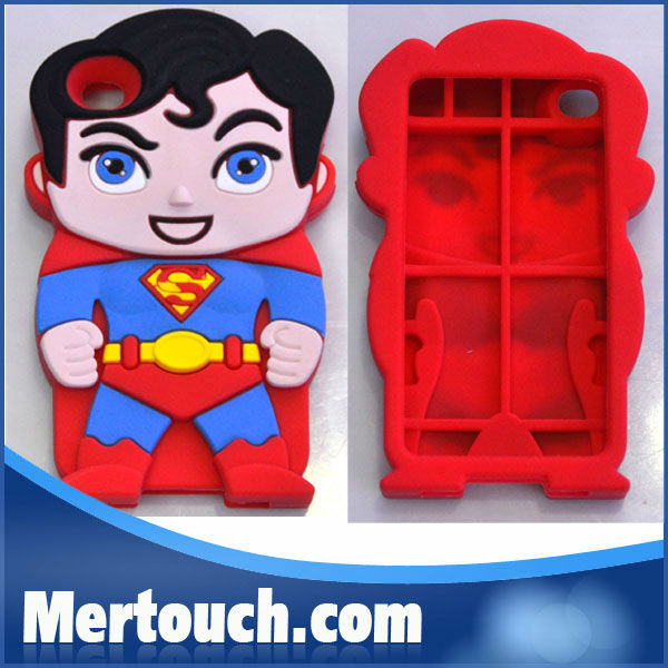 Thor Silicone Devil Superman Character 3d silicon animal case for iphone 5