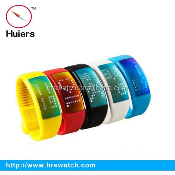silicon led watch USB flash drive / OEM bracelet promotion gifts /sport watch