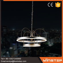 China wholesale 37w modern aluminum double ring led chandelier