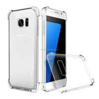 2016 new arrival alibaba clear soft strong crashproof shockproof FLOVEME phone case cover bumper cover for Samsung s7/s7 edge