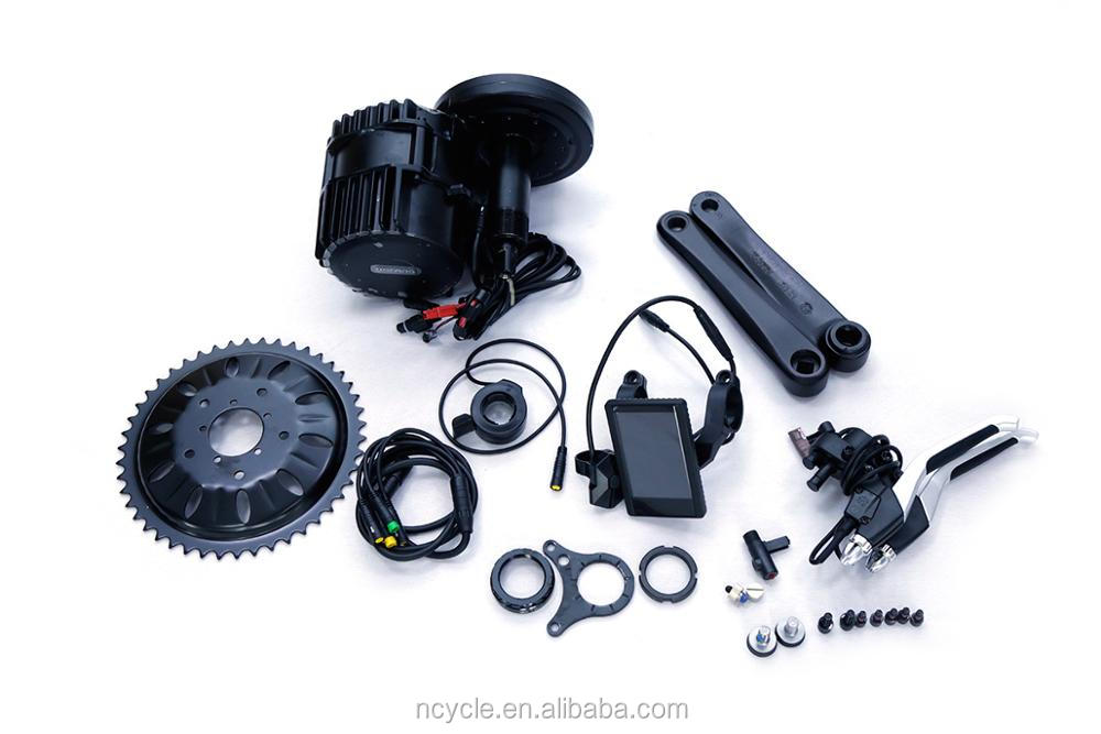 The best selling Bafang bbs03 48v 1000w 8 fun mid drive motor for ebike kit