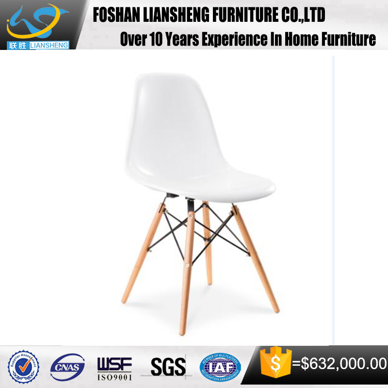 2016 High Quality Hot Sale Elegant Modern Designer Plastic Dining Chair With The Style Of Literature And <strong>Art</strong>