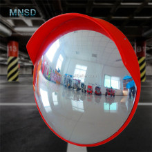 traffic safety wide angle large wall mirror, road security outdoor corner convex mirror