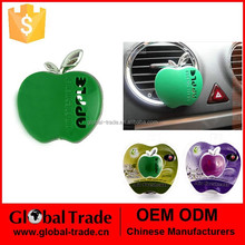 A1856 Car Perfume Pure Cute Apple Air Freshener Car Nice Decoration fragrance Cute