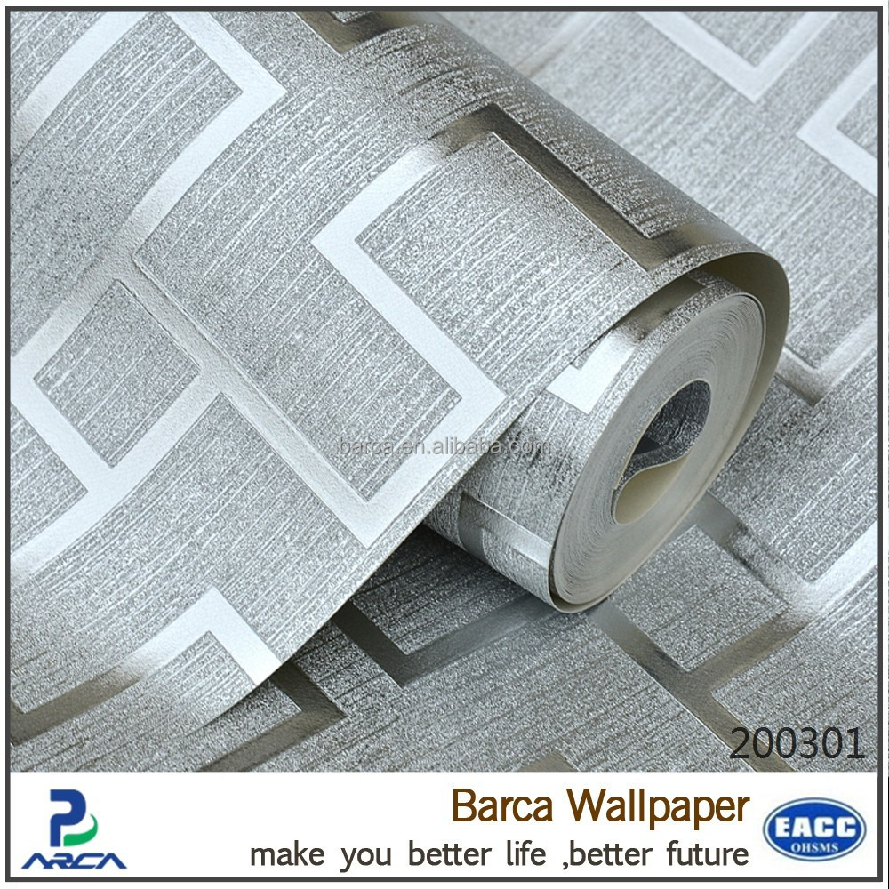 buy wallpaper metallic wallpaper silver for you