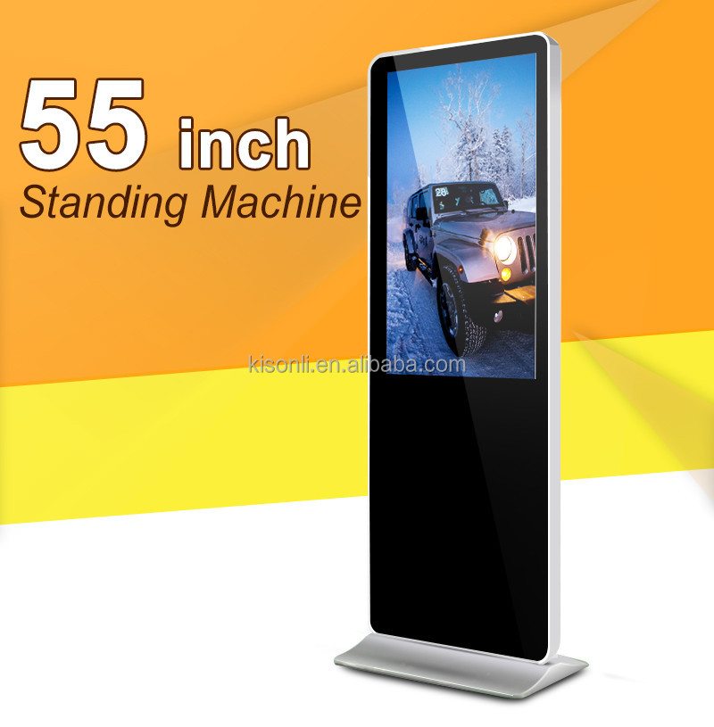 55inch Wifi/3G Advertising Player Digital Signage android lcd touch screen kiosk