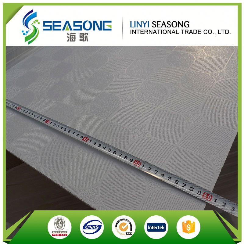 Decorative Ceiling Board PVC Gypsum Ceiling Board 595x595 cm
