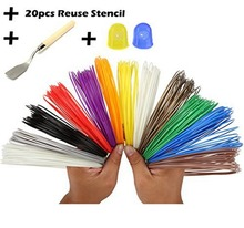 Hottest Multi color Good quality 1.75mm Abs pla 3d printing pen filaments materials for 3d pen