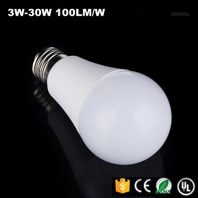 High quality 7w dimmable E27 led bulb lights,China manufacturing 7w energy saving LED bulb lamp