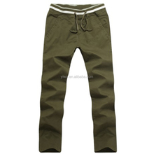 Wholesale old fashion design loose pants chino cotton men's casual pants