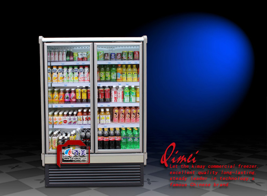 13CE European Style Refrigerating freezer display Showcase cooler for convenience stores