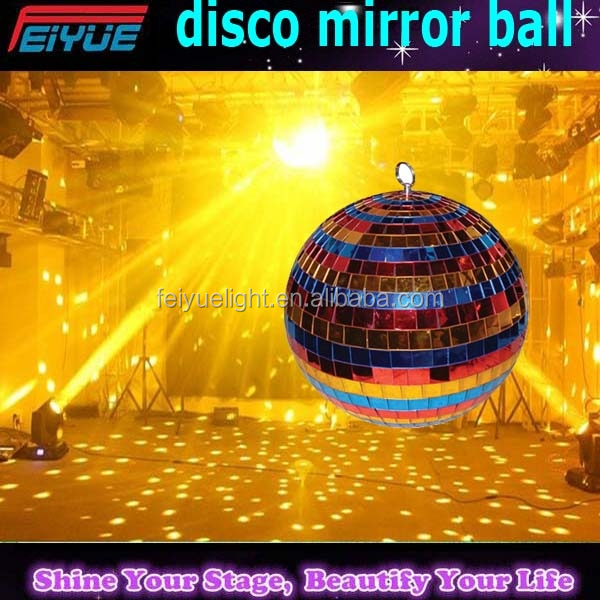 For nightclub/dj/disco/show party hanging party ornaments plastic mirror disco ball