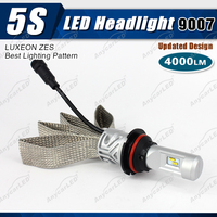 4000lm 5S 9007 auto rtd led motorcycle headlight