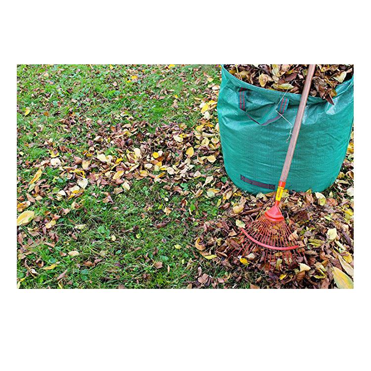 Pliable et Réutilisable Conteneurs Jardinage Forte Jardinage Sacs Cour Déchets Sacs