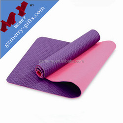 Promotional products wholesale blank yoga mat tpe
