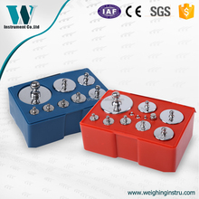5g-100g wholesale chrominum-plated calibration weights