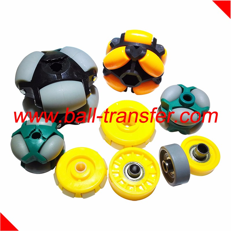 omni rex robot roth track metal plastic roller conveyor skate ball wheel bearing