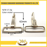 Wholesale high quality snap hook metal bag clasps inner diameter 51mm