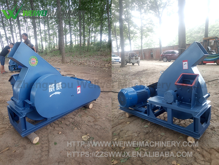 Weiwei capacity 12t MPJ1200 chips making wood log shredder chips blades moving blades alloy cutter blade for sale