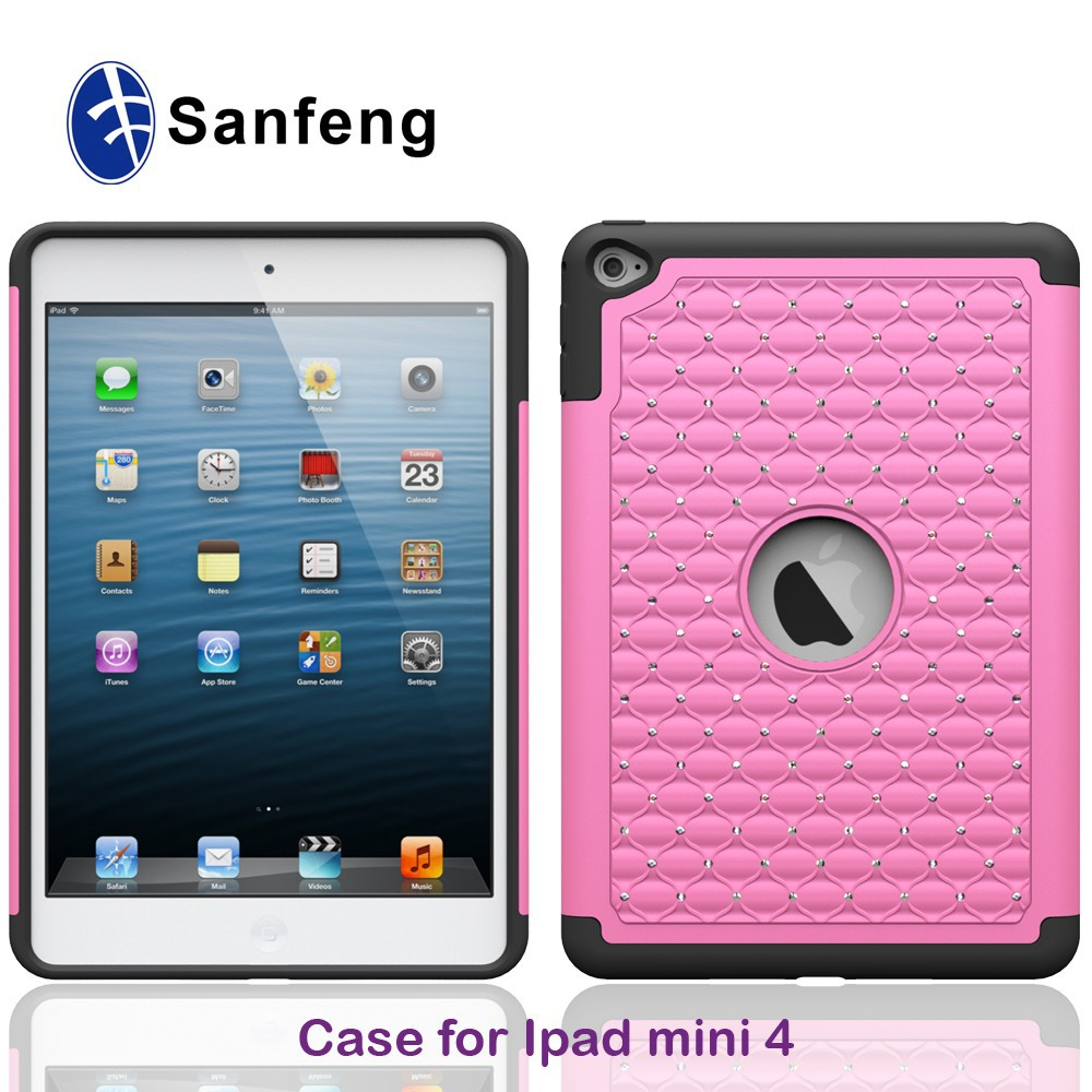 pc silicon tablet case for ipad mini 1 2 3 4