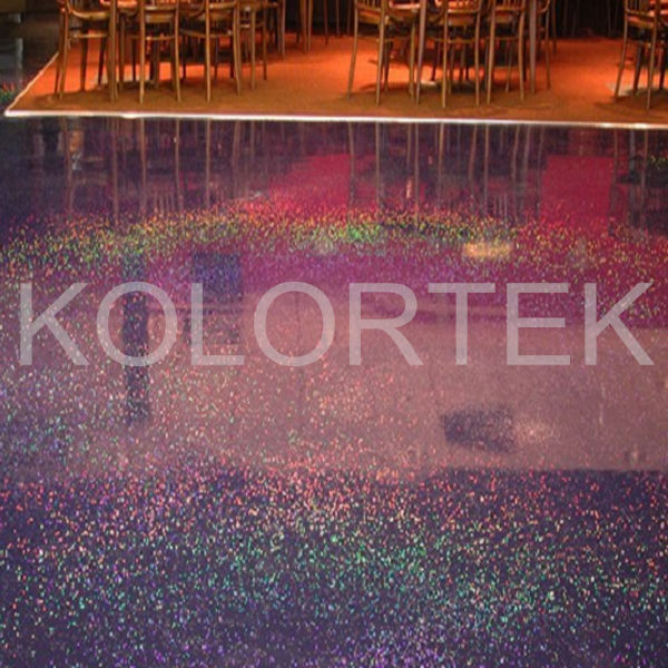 Metallic epoxy pigments for coloring floors, epoxy resin flooring glitter
