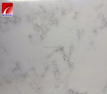 QH905 White Artificial Quartz Stone with vein